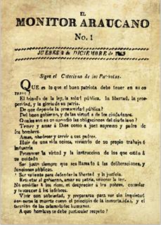 Portadas antecesores al Diario Oficial desde el año 1810 a 1876